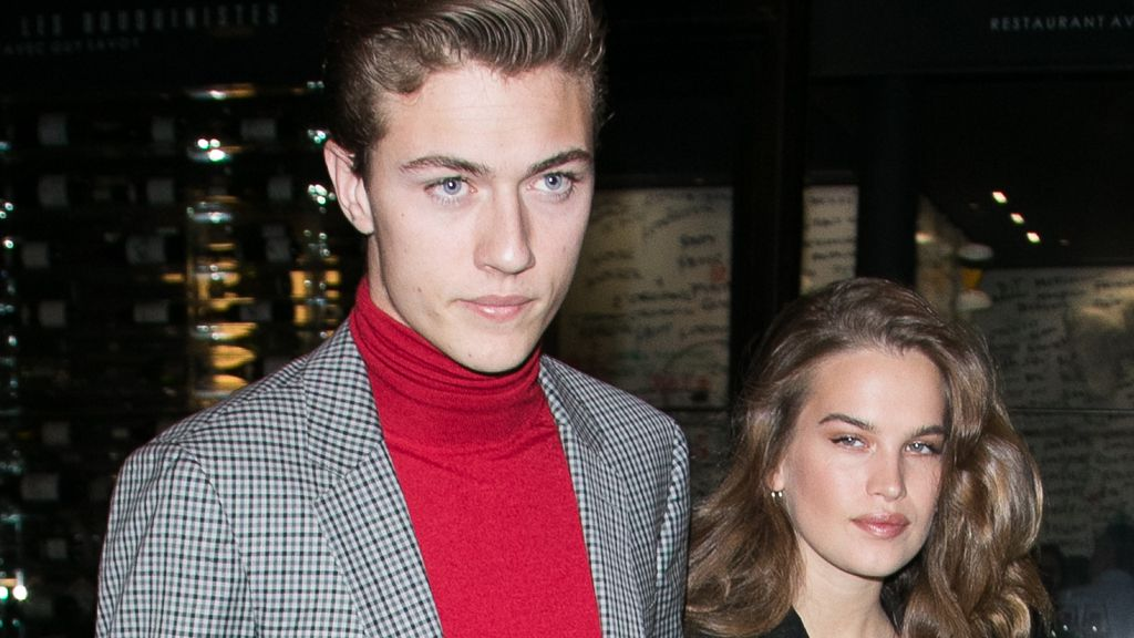 Lucky Blue Smith and girlfriend Stormi Bree. Image: Getty