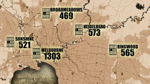 The number of bail breaches have fallen across Victoria this year.