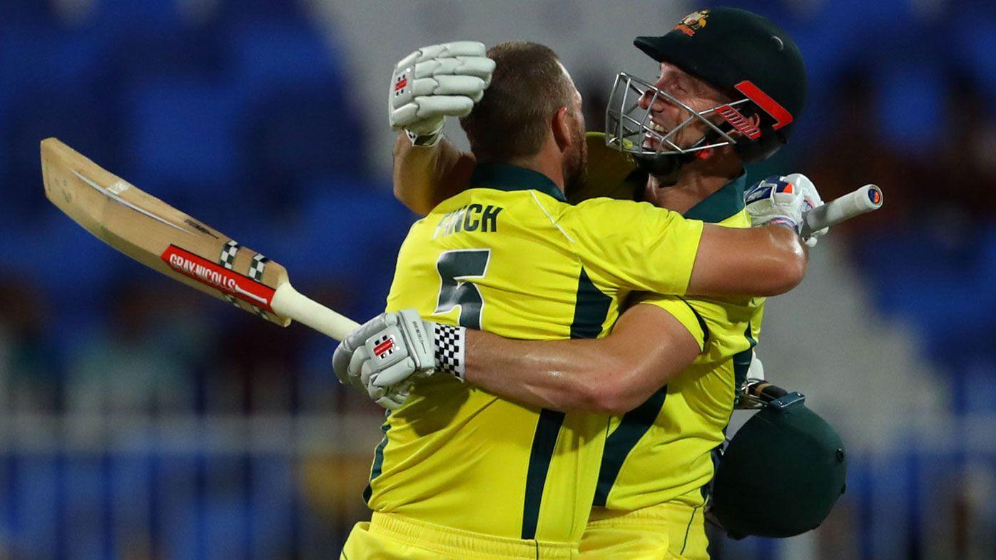 Unbeaten 153 from Aaron Finch as Australia beats Pakistan in second ODI