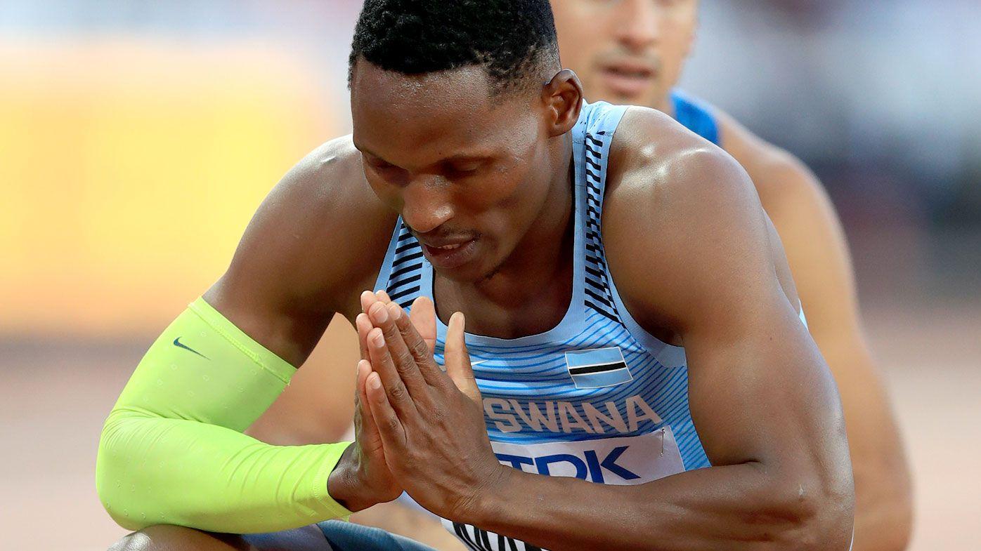 Isaac Makwala. (AAP)