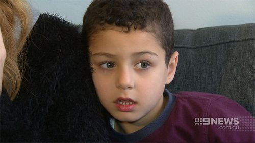 At least one of the family's children witnesses the horror attack. (9NEWS)