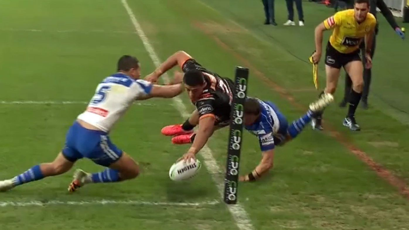 Tommy Talau scores a 'miracle' try