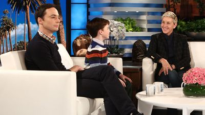 Jim Parsons says he's fortunate to have worked with Stephen Hawking