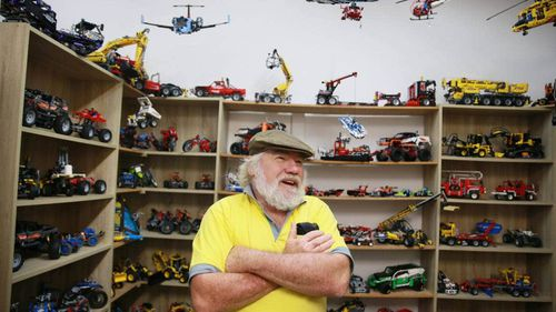 Spike is engaging company and his passion, and knowledge, about Lego is obvious as he shows Stuff around his museum.