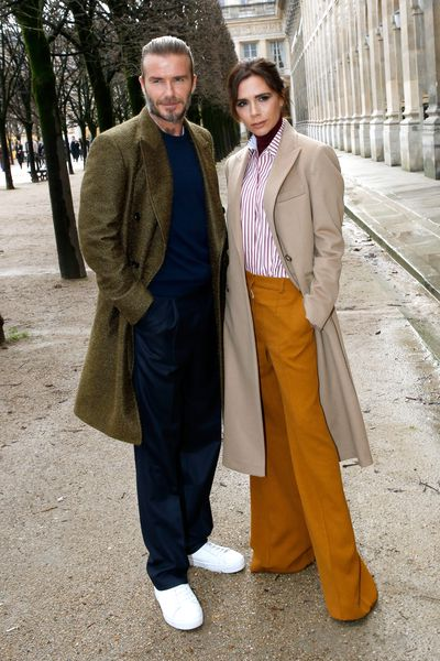 """<p>It&rsquo;s been 19 years since David and Victoria Beckham sat on golden thrones, released doves and donned matching purple outfits at their July 1999 wedding.</p> <p>The couple were dubbed """"Posh and Becks"""" by the British media and in the two decades since they tied the knot, the former Spice girl and soccer star have not only evolved their lifestyle choices but their sense of style. </p> <p>Who could forget the matching PVC latex jumpsuits they donned in 1999, or their head-to-toe appearance in white at the 2003 MTV Awards.</p> <p>The Beckhams' have just about rocked everything from Billy Idol-inspired buzzcuts to floor-length hair extensions and tiny denim shirts.</p> <p>""""I don&rsquo;t cringe too much about that,"""" <a href=""""http://www.vogue.co.uk/gallery/suzy-menkes-talks-to-victoria-beckham-at-londons-victoria-albert-museum"""" target=""""_blank"""">Victoria told<em> British Vogue</em> in 2015.</a> """"Everything was good at the time, and it is made me who I am now. I wouldn&rsquo;t wear those things now necessarily.""""</p> <p>Over the past decade the couple have transformed their style from chav-to-chic. </p> <p>David has embraced a distinct casual-cool aesthetic, while Victoria has become an acclaimed designer in her own right, swapping her stilettos for sleek flats and tailored pants. </p> <p>Click through to see the style evolution of David and Victoria Beckham.</p>"""