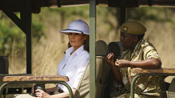 Melania Trump slammed for 'coloniser' fashion choice