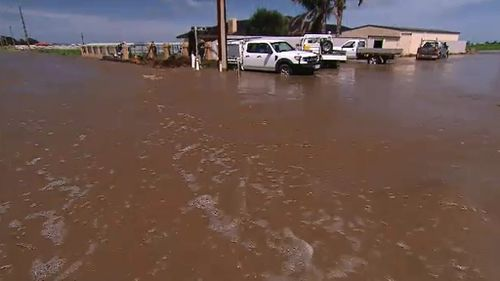 Flood warnings and watches have been issued for parts of SA. (9NEWS)