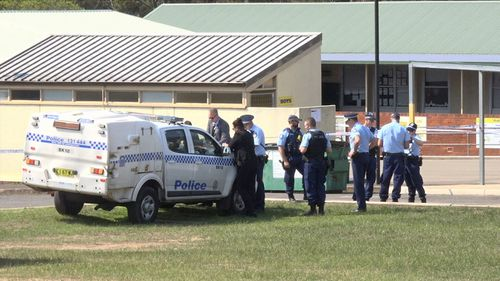 A 10-year-old boy is in a critical condition after he was allegedly assaulted at a school in Sydney's west.