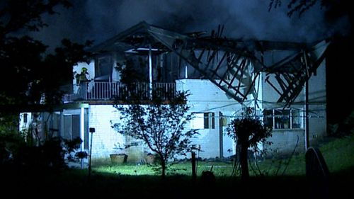 Sydney north shore house destroyed by fire