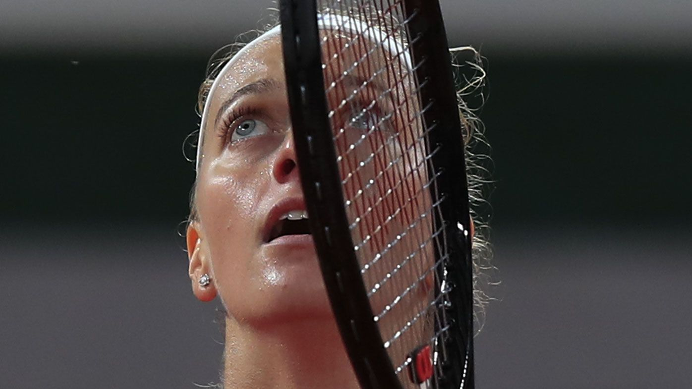 Petra Kvitova emotional after reaching her first French Open quarter in eight years