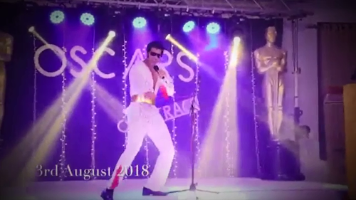 A video of Mr Nizamdeen impersonating Elvis at a party has been doing the rounds on Facebook.