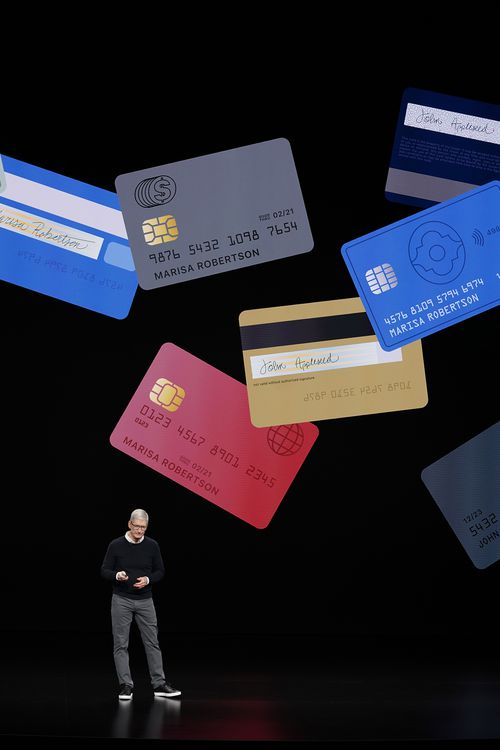 Apple is partnering with Goldman Sachs to make its own credit card (AP Photo/Tony Avelar)