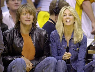 Heather Locklear and Richie Sambora