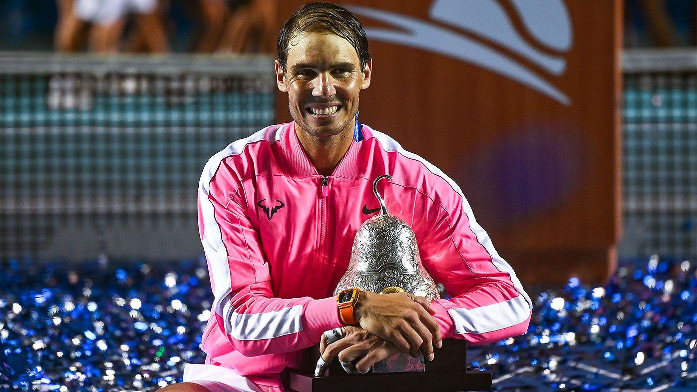 Rafael Nadal becomes oldest ever Acapulco winner after prevailing over Taylor Fritz