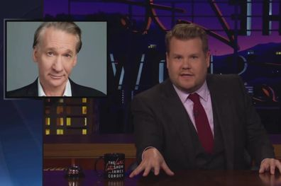 James Corden hit out against Bill Maher on his late night talkshow, The Late Late Show With James Corden.