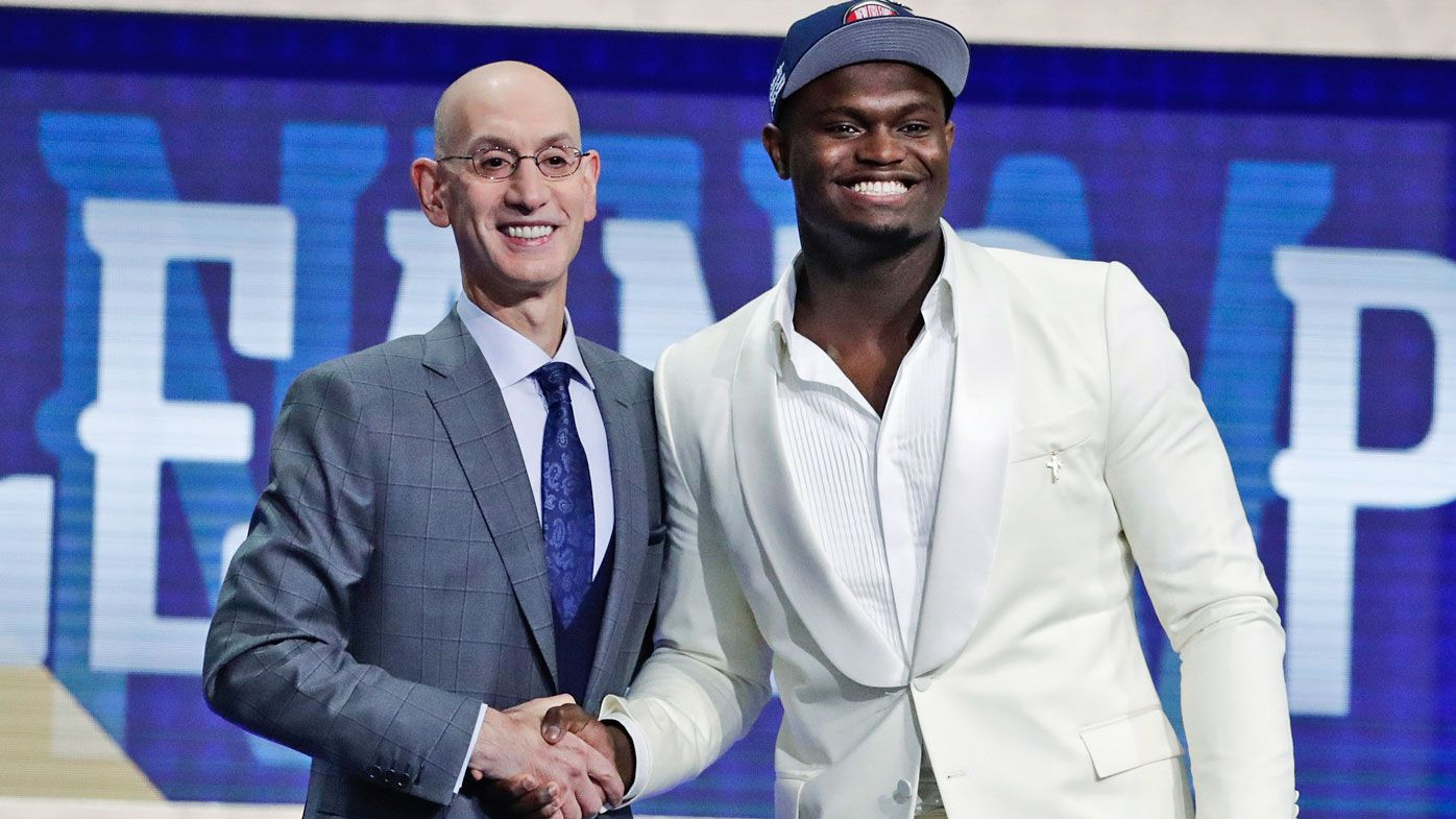 'Let's dance': Basketball phenom Zion Williamson selected at no.1 in NBA Draft