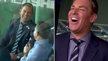 Warnie dishes secrets on Nine cricket commentary team