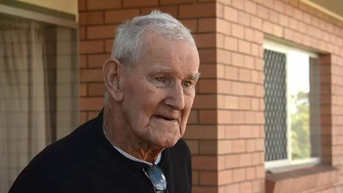 Stan McPherson bought the scooter after a near-fatal stroke. Picture: 9NEWS