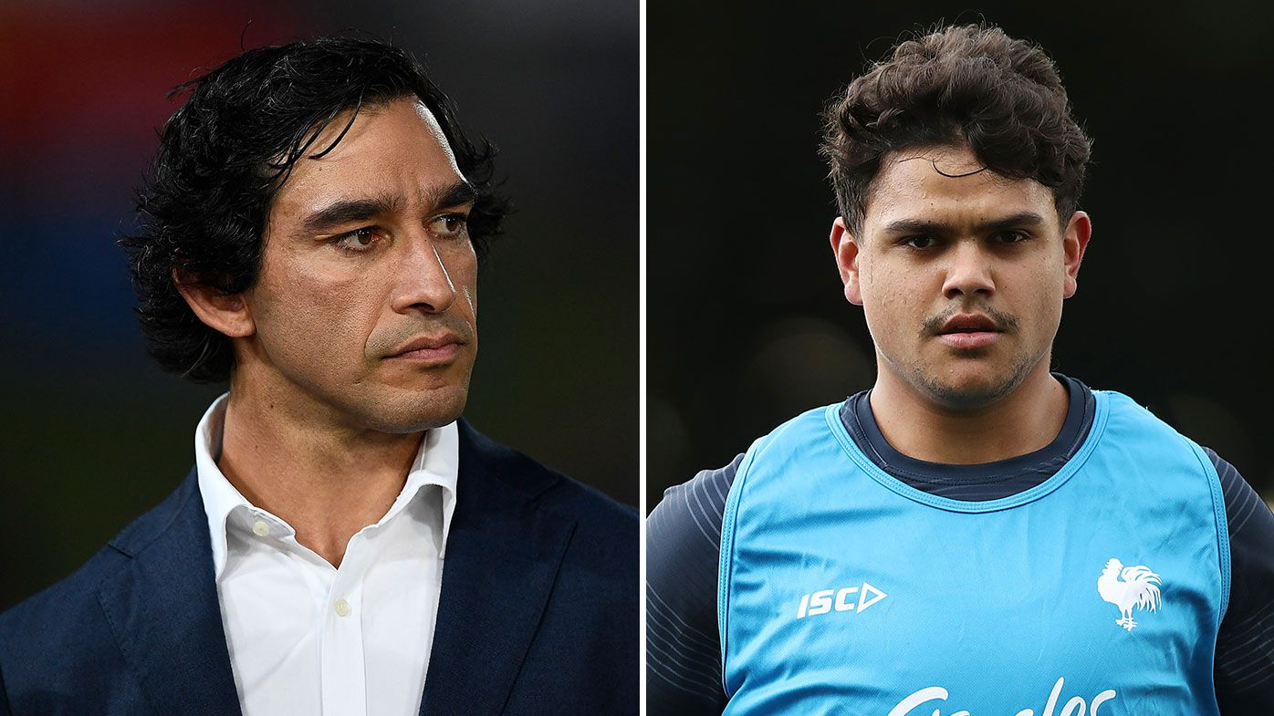 Johnathan Thurston questions whether Latrell Mitchell should leave the Roosters