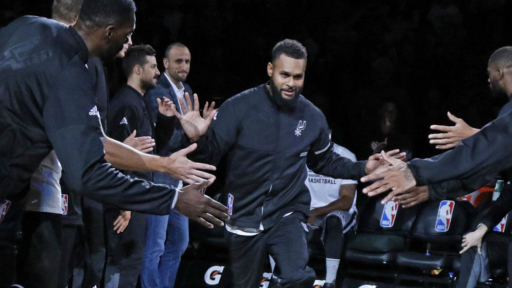 Patty Mills had a great night for the Spurs in the NBA. (AAP)