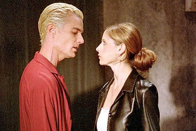 Hey, remember in the early seasons of Buffy, when Spike (James Marsters) was a total bad-ass? But then he, like, got a soul, or whatever, and he fell in love with the title vampire slayer (Sarah Michelle Gellar) while she was all depressed, and stuff, and it was really awful, and they had sex so hard they made a house fall down? That sucked.