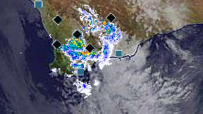 Storms create 50,000 lightning strikes in WA