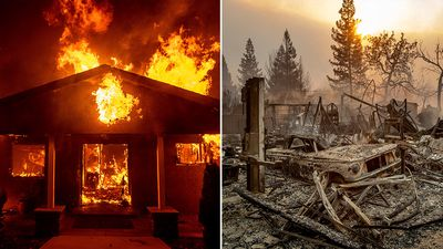 Wildfires wreak mass devastation across California