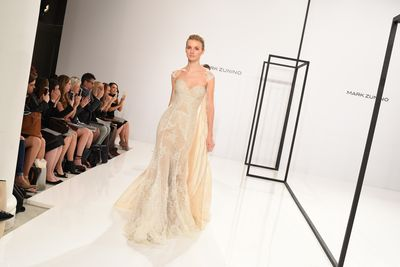 Mark Zunino for Kleinfeld, New York Bridal Fashion Week
