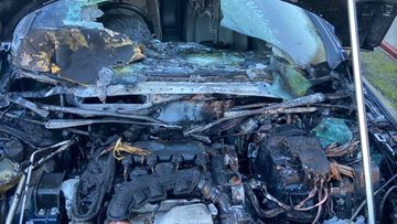 The car which caught fire in NSW had a rats nest inside.