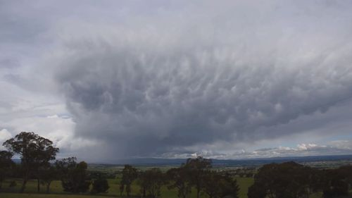Queensland NSW severe storms October 28, 2020.