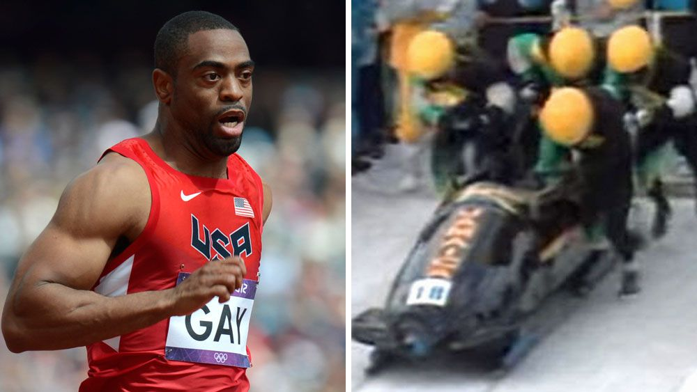 Sprinters Gay, Bailey try out for bobsled