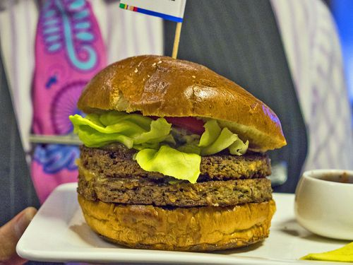 The burger has caused a bit of a reaction among some Kiwis.
