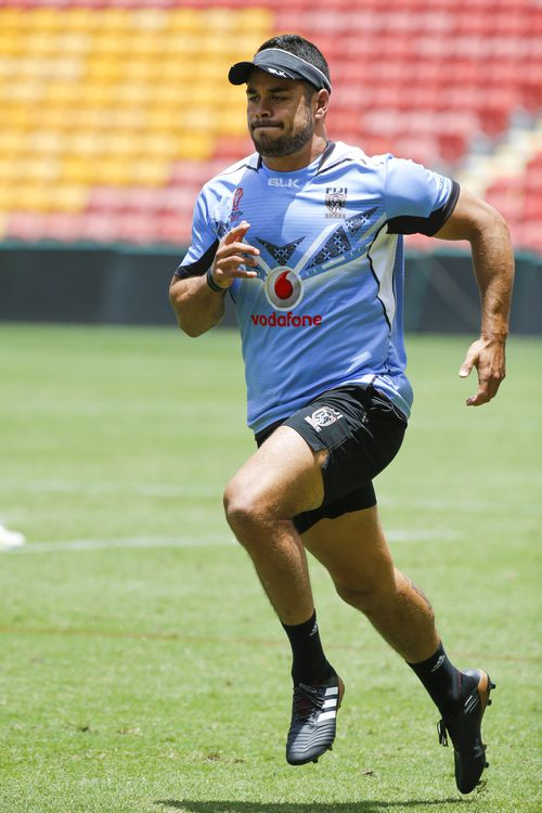 Hayne in training during the recent Rugby League World Cup. (AAP)
