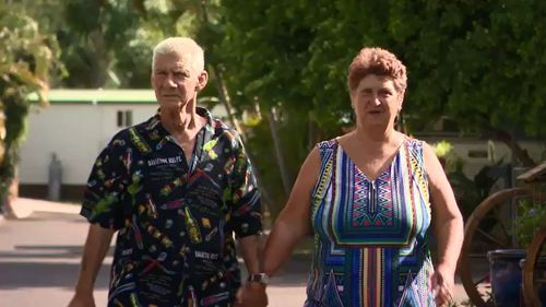 Gary and Carol are caravaners and partners.