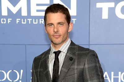 <i>X-Men</i> star James Marsden.