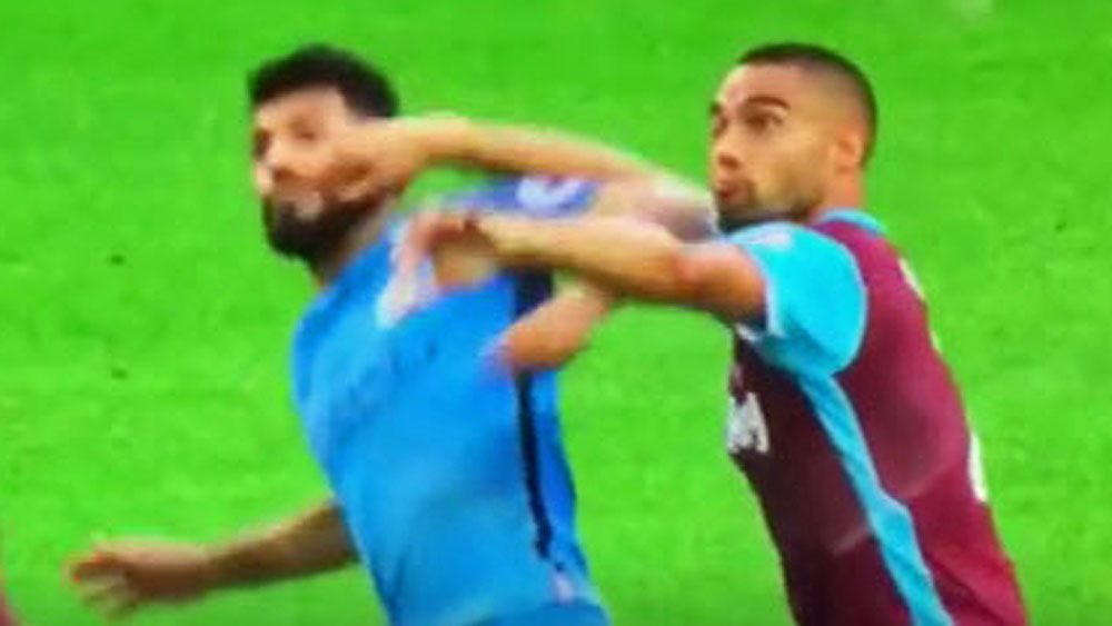 Aguero charged with violent conduct by FA