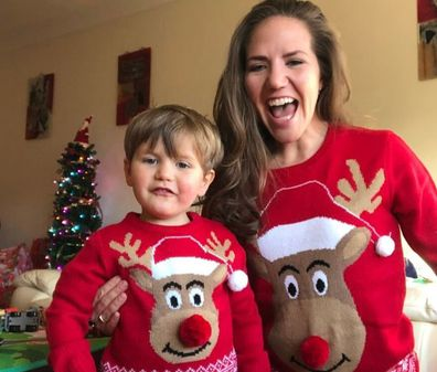 Naomi and Koa NF Christmas