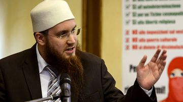 Islamic Central Council of Switzerland president Nicolas Blancho. (AFP)