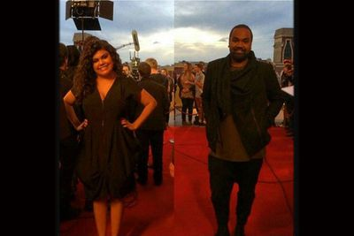 @zkfresh14: Red carpet @thevoiceau 2014 grand final. Zk looking fresh & ready. Last minute votes are still being taken Xo ZK. <br/>