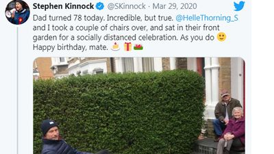 Stephen Kinnock, British MP