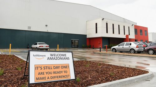 The Amazon warehouse in Dandenong is reportedly ready to start operating.