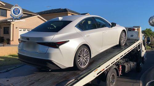 luxury car bust