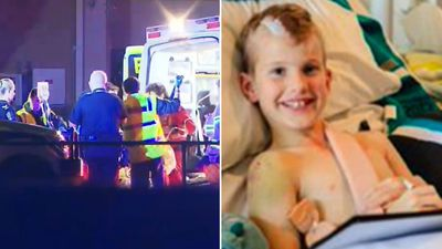 Boy's miraculous recovery after being hit by a bus