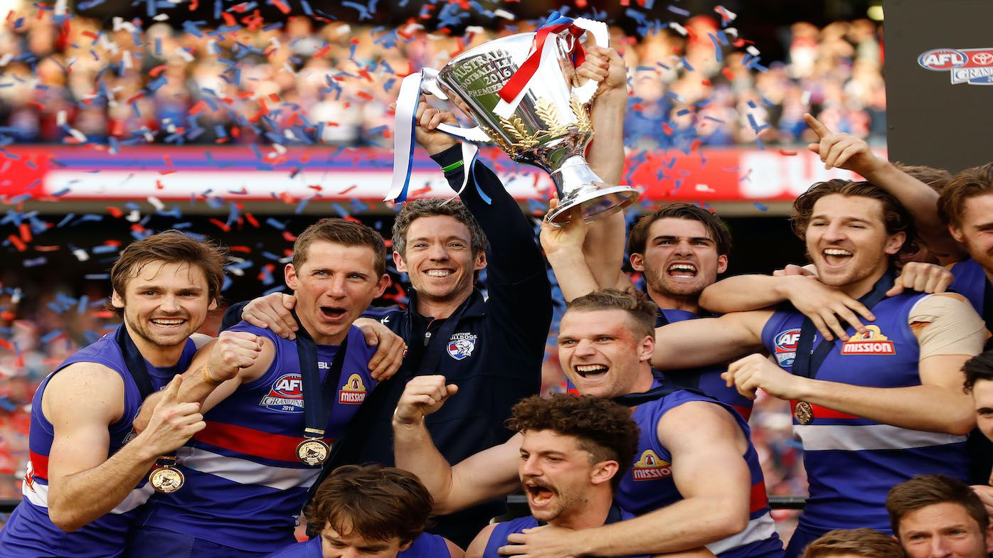 'I just hoped we didn't embarrass ourselves': Departing Western Bulldogs president makes alarming admission