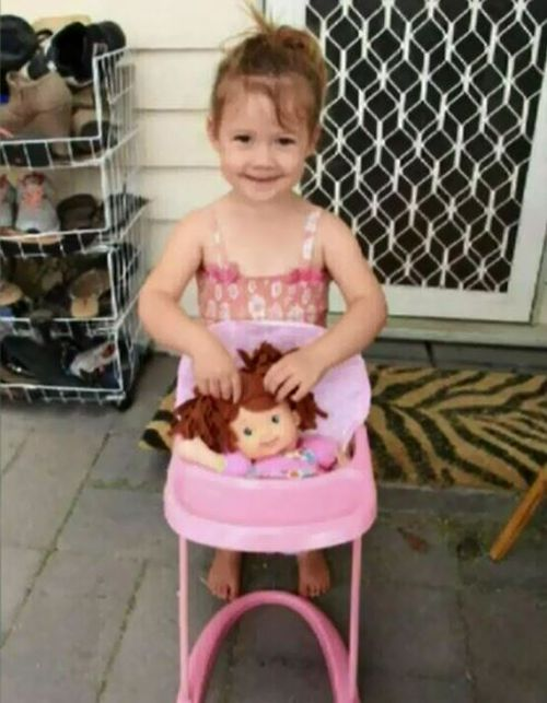 Bella's father today stands accused of bashing a Gold Coast tradie.