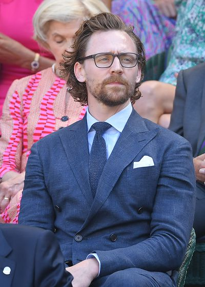 Tom Hiddleston at Wimbledon 2018