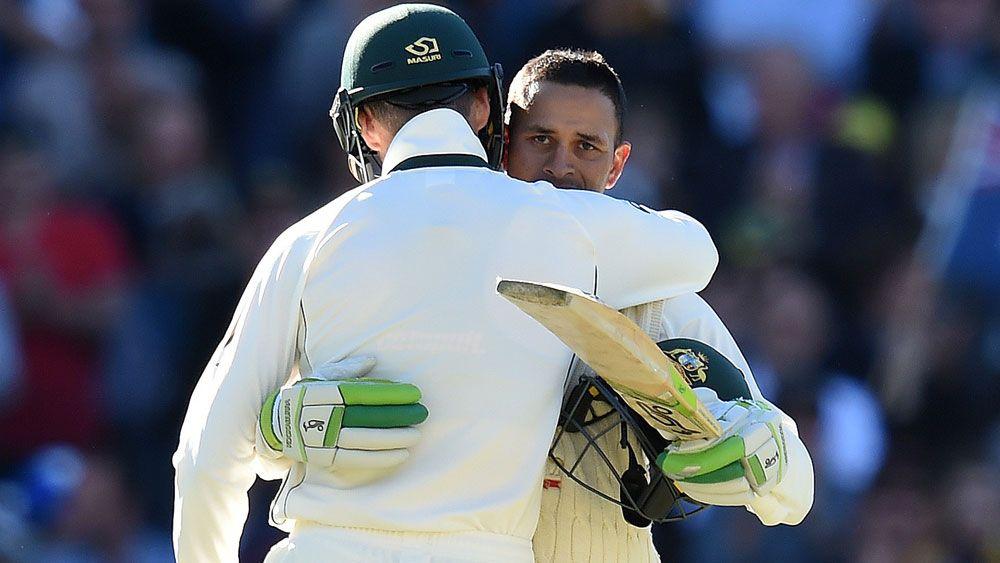 Khawaja powers Aust to 6-307 at stumps