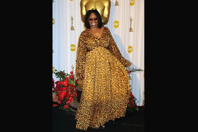 Whoopi Goldberg murdered 10 innocent cheetahs for the sake of one dress. It's just not fair. <br/>