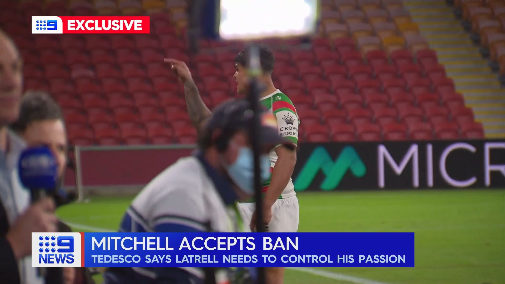Joseph Manu's family plead for calm after brutal Latrell tackle