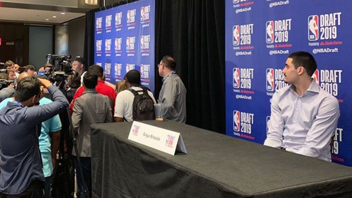 'He should frame this pic': NBA stars flock to the support of unheralded draft prospect after viral photo